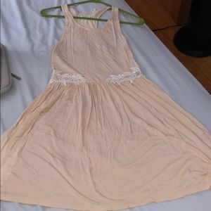 Urban outfitters blush color lace racerback dress